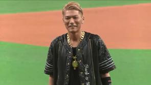 ファイターズ始球式にEXILEのSHOKICHIさんが登場!! 2014/5/4 F-Bs